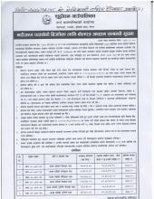 नदीजन्य पद्धार्थको बिक्रीका लागि मिति २०७७ /१२ /१८ गते को मेचिकाली राष्ट्रिय दैनिकमा प्रकाशित बोलपत्र आव्हान सम्बन्धी सूचना
